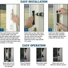 Secure French Doors - sliding glass door alarm simple sliding closet doors on sliding