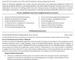 Product Manager Sample Resume by Etl Developer Cover Letter