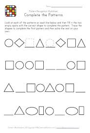 patterns in kindergarten 109 best maths patterning images on preschool math