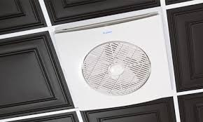 long drop ceiling fans drop grid ceiling fan air circulation device