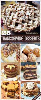 25 thanksgiving recipes desserts and treats the 36th avenue