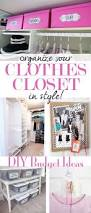 clothes closet organizing ideas in my own style