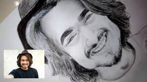 die draw it easy sketch of bhuvan bam bb youtube