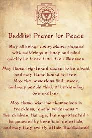 best 25 buddhist prayer ideas on prayer of healing
