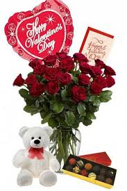 balloons and teddy delivery premium roses deliver on s day by local florist dreamark
