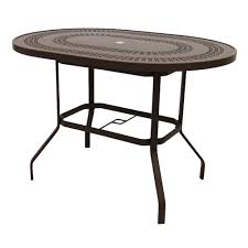 42 Inch Round Patio Table by Fiberglass Patio Dining Tables Patio Tables The Home Depot