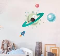 stickers pour chambre enfant stickers horloges pour chambre enfant tenstickers