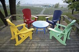 Adirondack Patio Chair The Adirondack Outdoor Furniture Chairs Home Decorations Spots