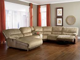 furniture excellent leather sleeper sectional sofa with chaise