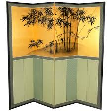 Gold Room Divider by Buy 5 Ft Tall Gold Leaf Brocade Bamboo Room Divider Online C