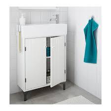 Ikea 2 Door Cabinet Silverån Wash Basin Cabinet With 2 Doors White 60x25x68 Cm Ikea
