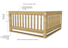 Free Wood Baby Cradle Plans by Ana White Wood Handrail Plans Diy Projects