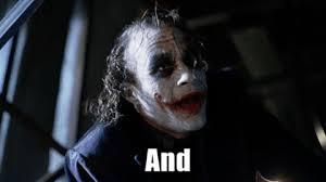 Here We Go Meme - heath ledger joker gif find share on giphy