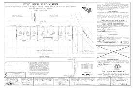 Park City Utah Map by Echo Spur Park City Utah Plat Map