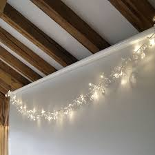 clear led light garland by lilly notonthehighstreet