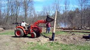 putting in the hop poles youtube