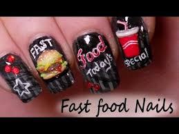 Food Nail Art Designs Beautiful Nails Fun Fast Food Inspired Nail Art Tutorials