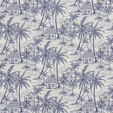 Tropical Upholstery Dark Blue Tropical Upholstery Fabrics Discounted Fabrics