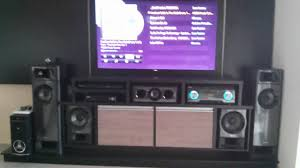 home theater rack system receiver sony muteki ht m3 5 2 canais home theater sony youtube