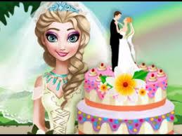 cooking elsa u0027s wedding cake frozen games cooking elsa u0027s wedding