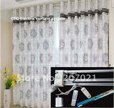 Motorized Drapery Rods Remote Control Curtain Rod With Regard To Your Own Home Csublogs Com