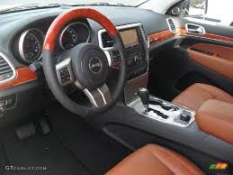 overland jeep cherokee new saddle black interior 2012 jeep grand cherokee overland 4x4