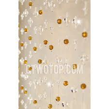 Beaded Doorway Curtains Twenty Three Strings Of Beads 4cm Interval Crystal Glass Beaded