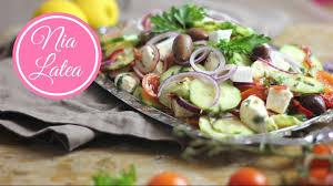griechische küche griechischer bauernsalat χωριάτικη σαλάτα i choriatiki i