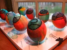 faux easter eggs 20 best glass stained glass eggs images on easter