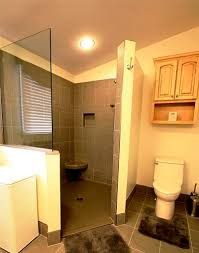 No Shower Door Six Facts To About Walk In Showers Without Doors