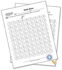 worksheetworks com math problem search answer key math maze