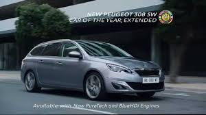 peugeot family car new peugeot 308 sw car of the year extended tv advert youtube