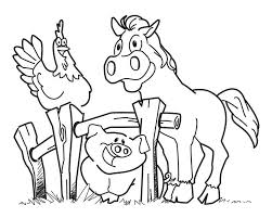 Farm Coloring Pages Printable free printable farm animal coloring pages for farming animal