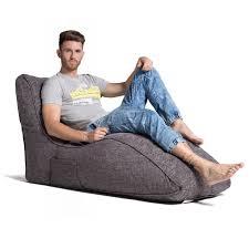 home cinema indoor bean bags avatar lounger luscious grey