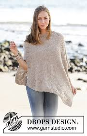 drops design poncho so far drops 178 34 free knitting patterns by drops design