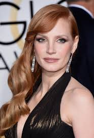 jessica chastain j lo and the best golden globes 2015 hair ny