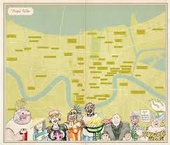 Tourist Map Of New Orleans by Unfathomable City A New Orleans Atlas Rebecca Solnit