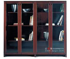 Antique Wood File Cabinet China Antique Wooden Office File Cabinet With Glass Door Excutive