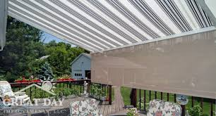 Retractable Awning Parts Retractable Awning Ideas Pictures U0026 Designs Great Day Improvements