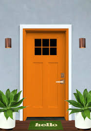 marvellous front door color for gray house images best