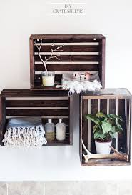 Easy Crate Leaning Shelf And by