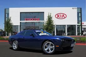 Dodge Challenger Used - kia of stockton new kia dealership in stockton ca 95212