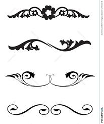 line rule ornaments illustration 12963318 megapixl