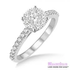 how to pay for an engagement ring engagement ring lm 1106 wg 1 2 carat 999 engagement