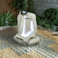 outdoor water features with lights water feature synthetic with jug water feature with light