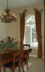 Window Treatments Dining Room Tuscan Country Window Treatments Dining Rooms Old West
