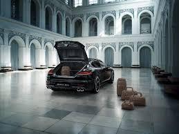 Porsche Panamera Back - porsche panamera turbo s executive exclusive series back luxuo