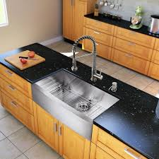36 inch farmhouse sink vigo all in one 36 inch farmhouse stainless steel kitchen sink and