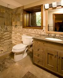 bathroom trim ideas pine bathroom cabinets with rustic wood trim bathroom cabinets