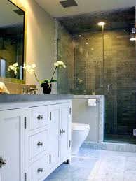 design a bathroom bathroom design open shower for small excerpt partitions clipgoo